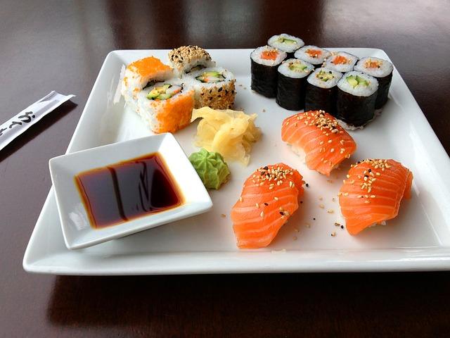 Sushi, czyli niezwykłe danie z pomysłem