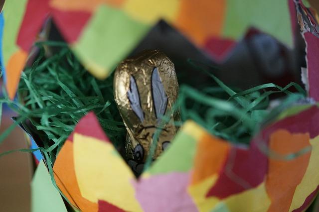 Tradycja prezentów na zajączka wielkanocnego